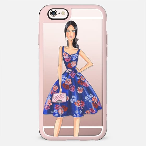 Flower dress, fashion illustration - Funda New Standard