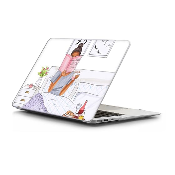 MacBook Air 13 Sleeves - brunette breakfast- fashion illustration