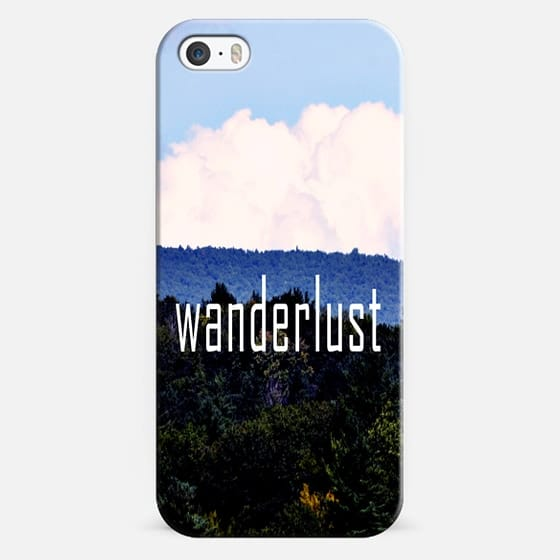 Wanderlust - Classic Snap Case