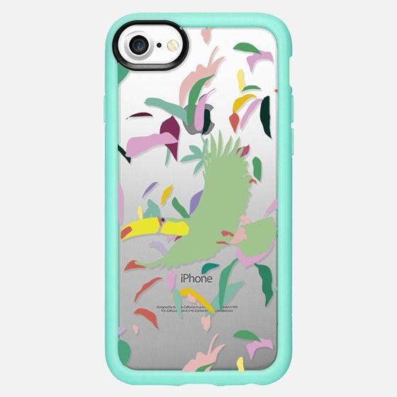 Mint Toucan - Snap Case