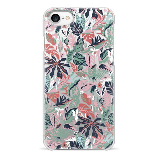 iPhone 7 Cases - Pastel Jungle