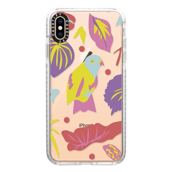 iPhone XS Max Cases - Parrot Jungle