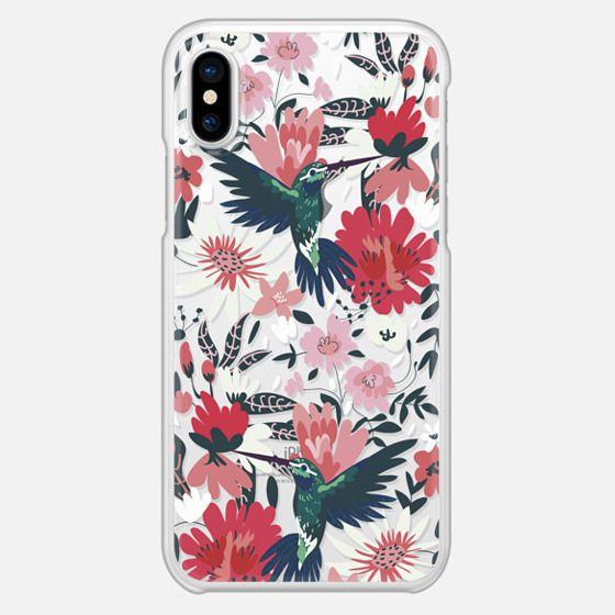 Hummingbirds + Spring Florals