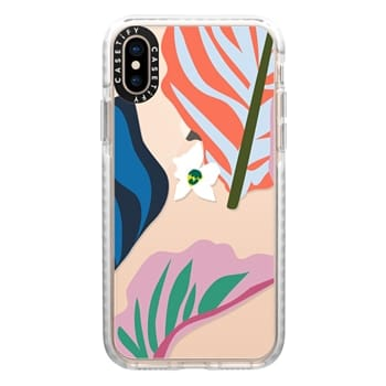 Impact iPhone Xs Case - Foliage Mix 1