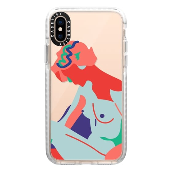 iPhone XS Cases - nymph