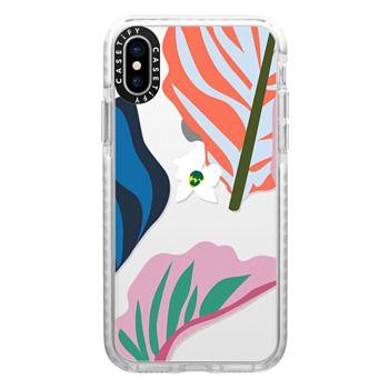 Impact iPhone X Case - Foliage Mix 1