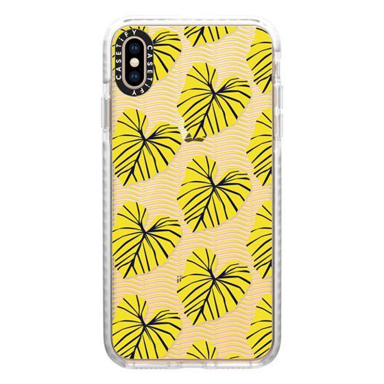 iPhone XS Max Cases - Caladium Yellow