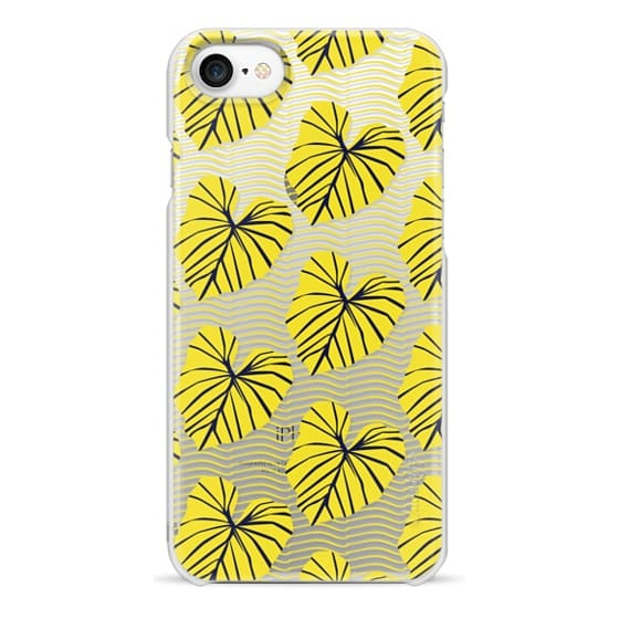 iPhone 7 Cases - Caladium Yellow