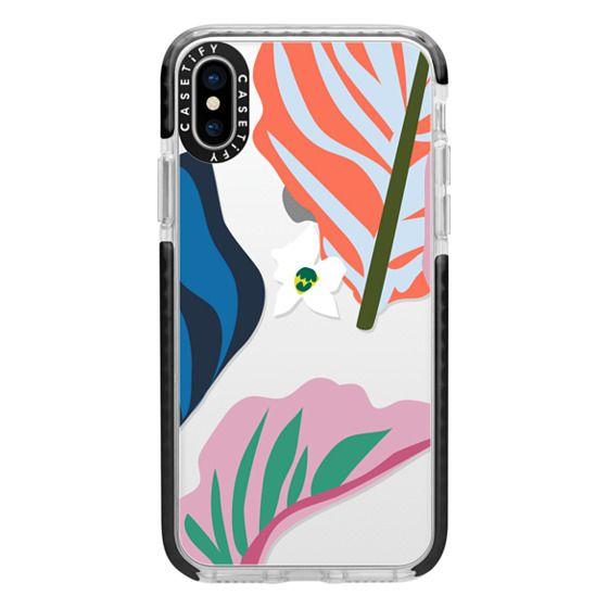 iPhone X Cases - Foliage Mix 1