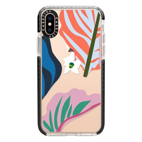 iPhone XS Cases - Foliage Mix 1
