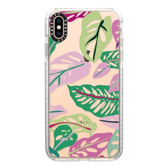iPhone XS Max Cases - Jungle Plants