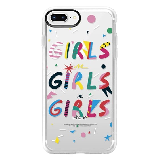 detailed look 7ac7b 2f7f2 Classic Grip iPhone 8 Plus Case - girls girls girls