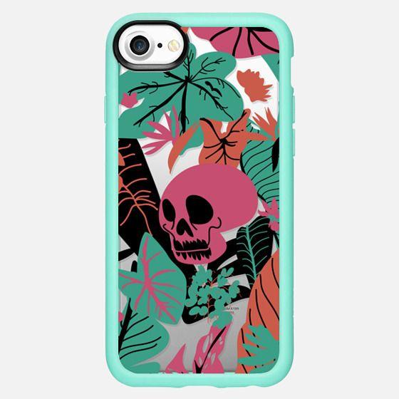 Floral Skull - Snap Case