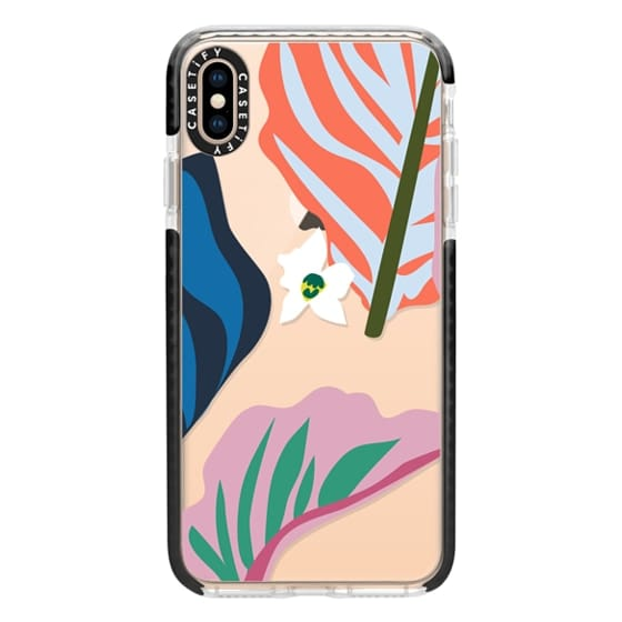 iPhone XS Max Cases - Foliage Mix 1