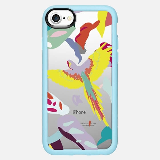 Lilac Macaw - Snap Case