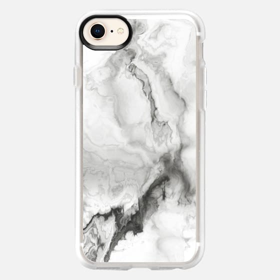 White Marble - Snap Case