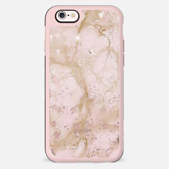 Pink Marble Destressed