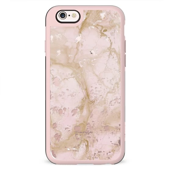 Pink Marble Destressed