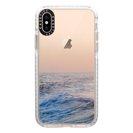 iPhone XS Cases - Ocean Waves