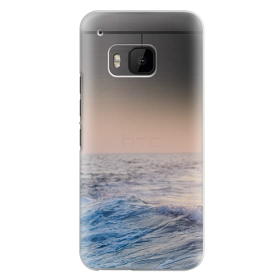 Htc One M9 Cases - Ocean Waves