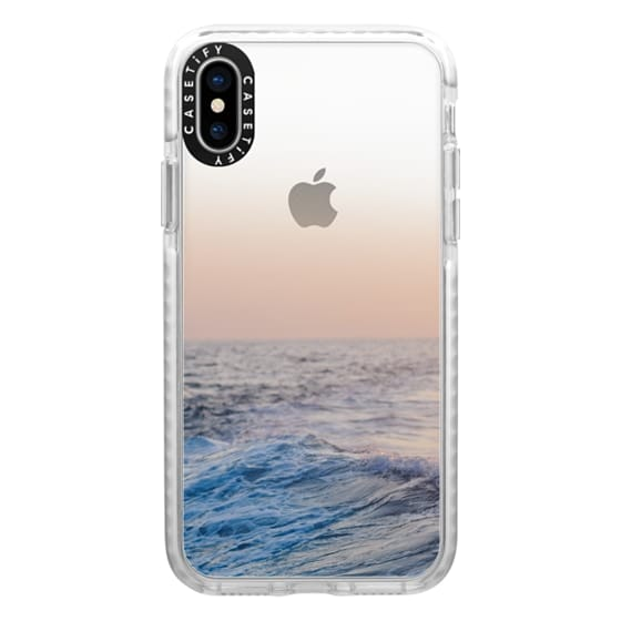 iPhone X Cases - Ocean Waves