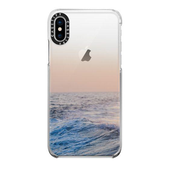 iPhone X Cases - Ocean Waves