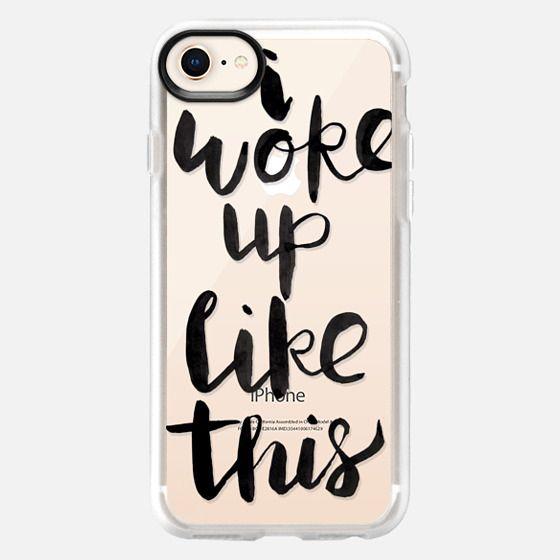 I woke up like this - Snap Case