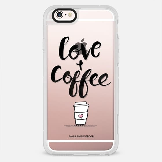 Love and Coffee - New Standard Case