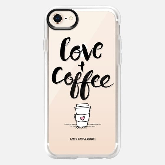 Love and Coffee  - Snap Case