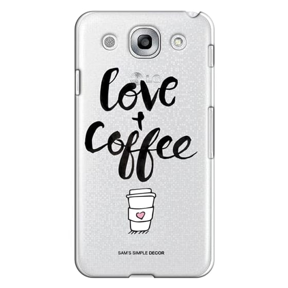 Optimus G Pro Cases - Love and Coffee