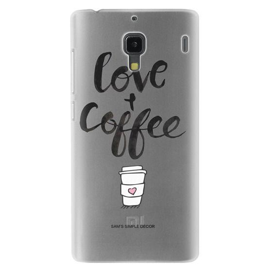 Redmi 1s Cases - Love and Coffee