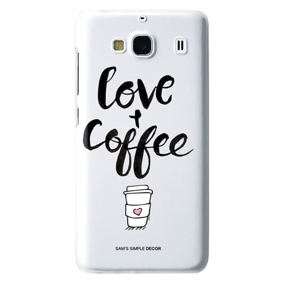 Redmi 2 Cases - Love and Coffee