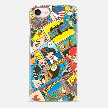 iPhone 7 ケース DC Retro Comic Strip