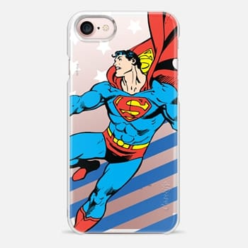 iPhone 7 Case Superman in Action Color