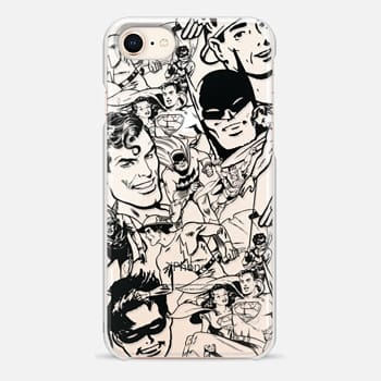 iPhone 8 Case DC Universe Shine Through