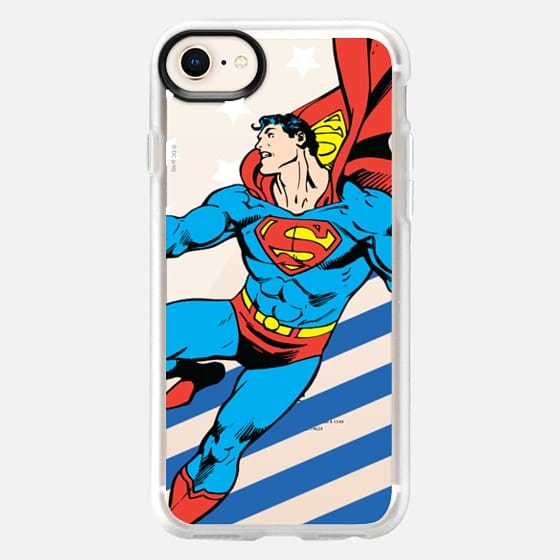 Superman in Action Color - Snap Case
