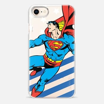 iPhone 8 Case Superman in Action Color