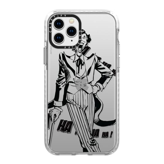 iPhone 11 Pro Cases - Joker in Action B&W