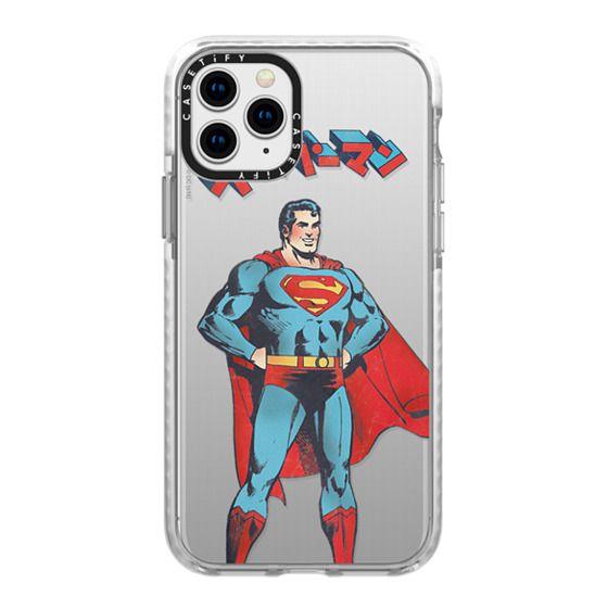 iPhone 11 Pro Cases - Vintage Tokyo Superman