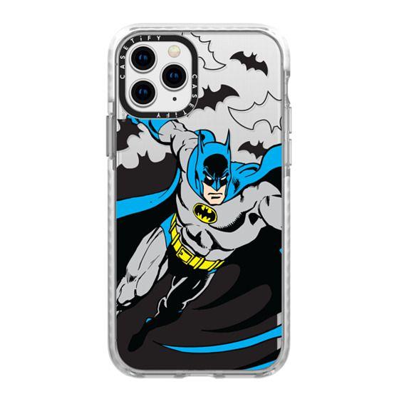 iPhone 11 Pro Cases - Batman in Action Color