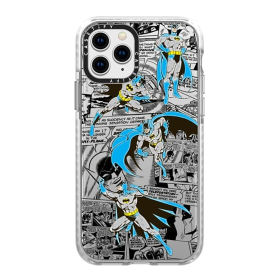 iPhone 11 Pro Cases - Batman in Action with Comic