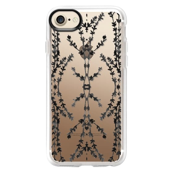 iPhone 6s Cases - Vines Kaleidoscope (Black)
