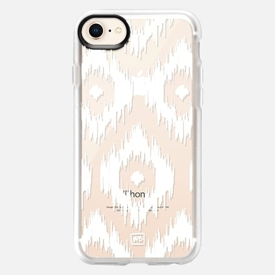 Ikat - Transparent - Snap Case