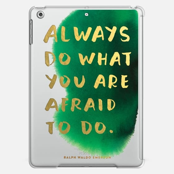 Always Do What You Are Afraid To Do - Classic Snap Case