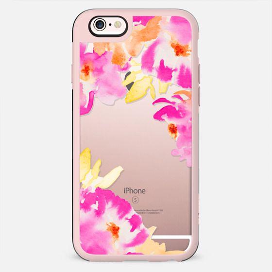Wild Watercolor Flowers - New Standard Case