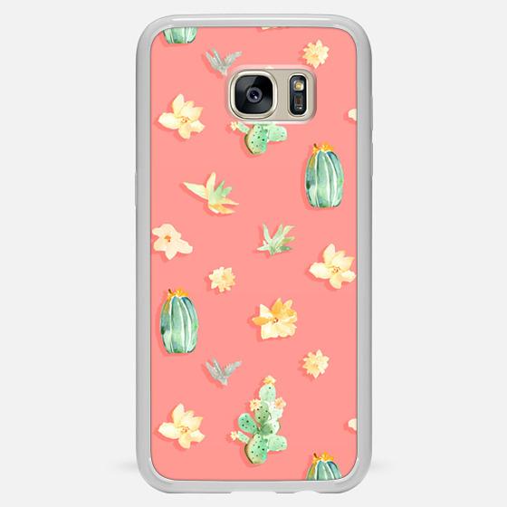 Casetify Samsung Galaxy / LG / HTC / Nexus Phone Case - Watercolor Cactus Pink