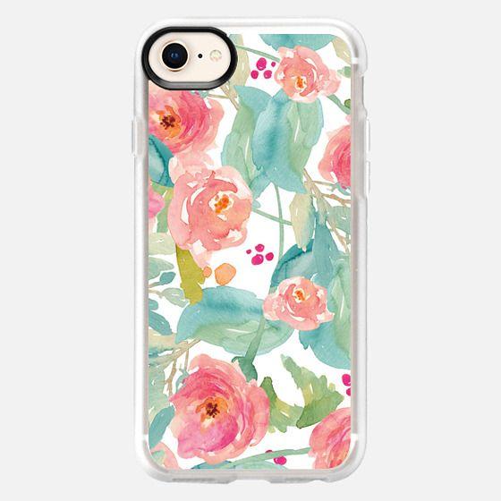 Wild Watercolor Flower Iphone Case - Snap Case