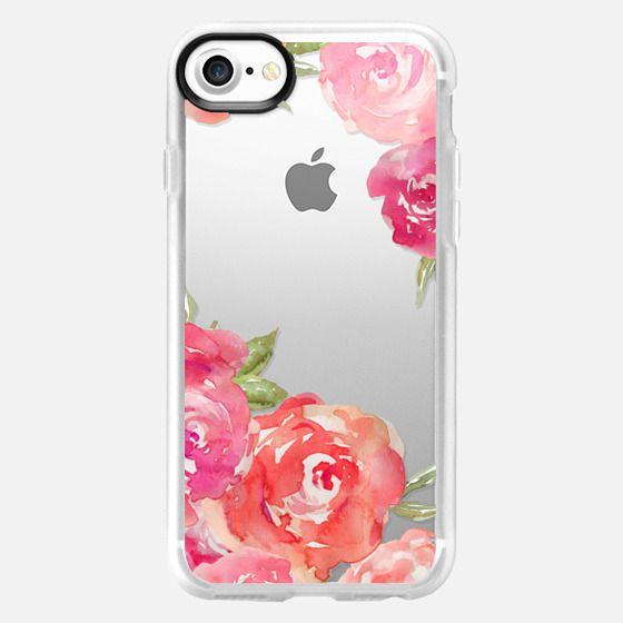 Watercolor Roses - Classic Grip Case