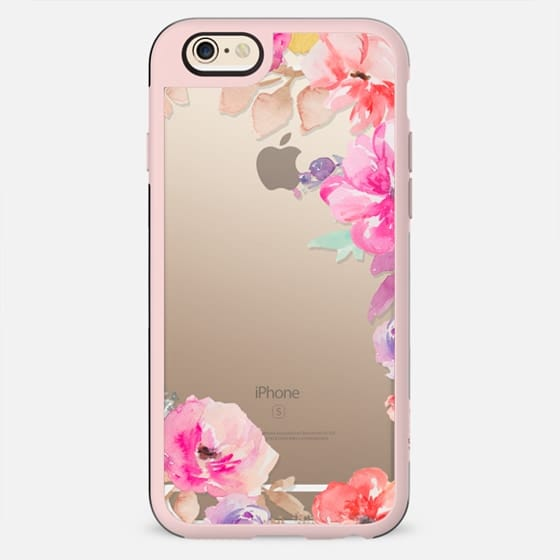 Cute Watercolor Flowers Iphone Case - New Standard Case