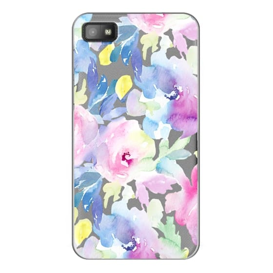 Blackberry Z10 Cases - Wild n Loose Watercolor Floral